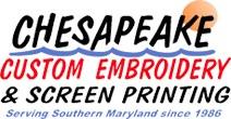 Chesapeake custom Embroidery