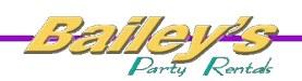 Bailey's Party Rentals